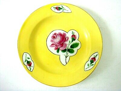 Meissen Porcelain Very Rare Yellow Ground Plate - Made For The Royal Palace?  • 16£