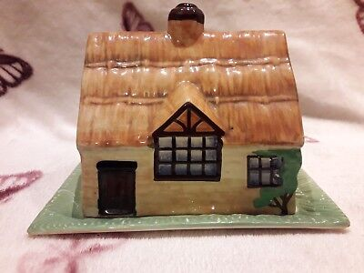 Beswick Cottage Ware Cheese/butter Dish 1930's. • 8£
