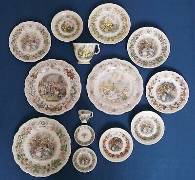 Royal Doulton Brambly Hedge Bone China Job Lot Collection Jill Barklem • 67£