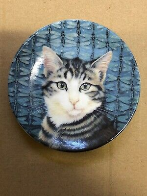 Royal Doulton Harry & The Dragonflies By Lesley Ann Ivory Cat Plate • 5£