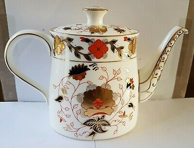 Royal Crown Derby  Asian Rose   8687 Lix  Large Tea Pot • 39.99£