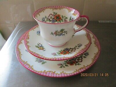 Aynsley  Vintage Tea Cup, Saucer & Plate Trio C1930s Pattern B914 5 Available • 6.99£