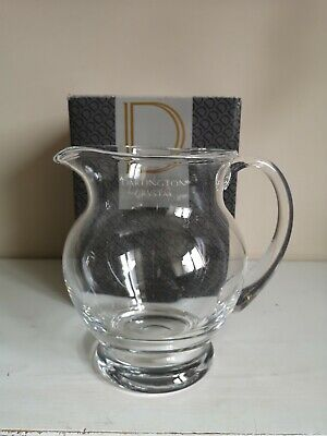 Dartington Crystal  Birmingham  Pitcher - JU1313 • 19.99£
