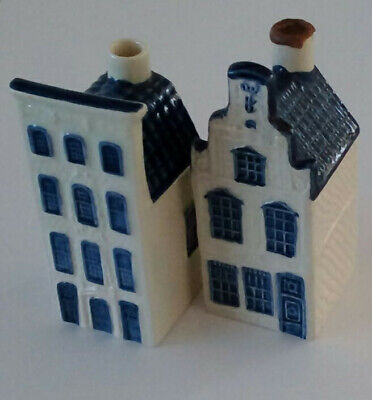 KLM BLUE DELFT HOUSES  By RYNBENDE Nos. 24 And 27 • 11.50£
