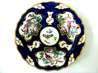 Bow Porcelain Very Rare Exotic Birds Plate Decorated At The Giles Studio C1765 • 295£