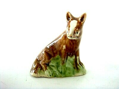 Ralph Wood Creamware Very Fine Figure Of A Fox - Most Charming Model C1790 • 225£