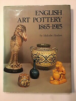 1975 First Antique Collectors Club Book English Art Pottery 1865-1915. M. Haslam • 9.99£