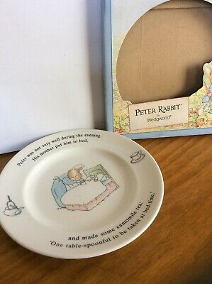 Wedgwood PETER RABBIT Plate • 4.99£