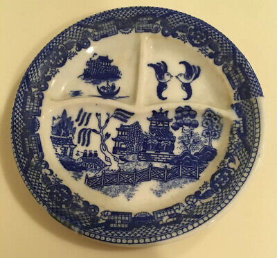 Japan Blue Willow Childs Grill Plate • 15.86£