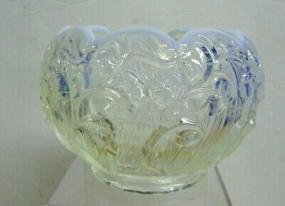 Fenton Opalescent Lily Of The Valley  Rose Bowl Vase • 9.02£