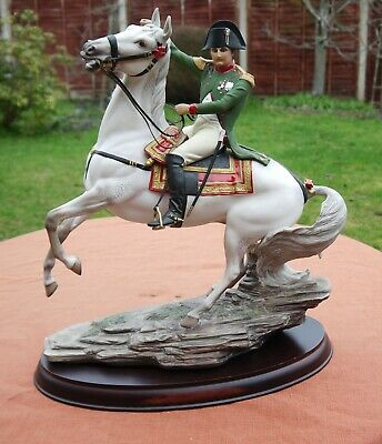 Franklin Mint   Napoleon At Waterloo   Large Porcelain Figurine  • 445.50£