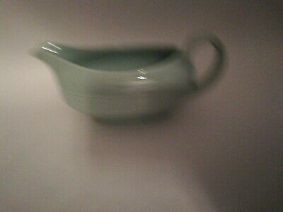 Woods Ware Beryl Green Sauce Boat And Stand • 20£