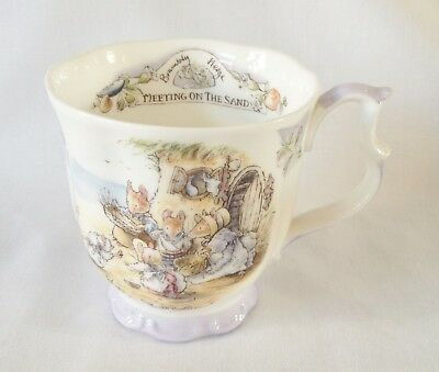 Boxed Brambly Hedge Meeting On The Sand Beaker 1st Quality • 155£