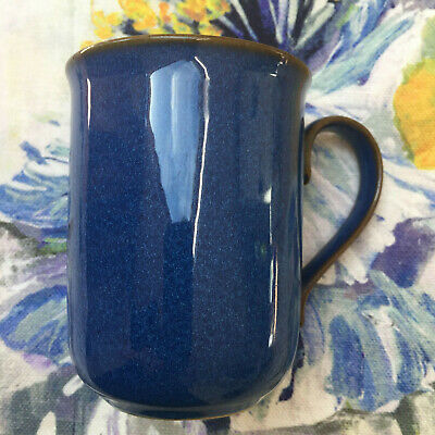 Denby Imperial Blue Straight Sided Stoneware Mug • 4.99£