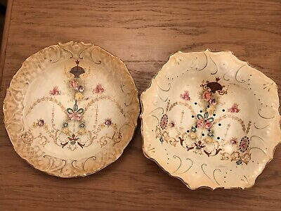 19Th Century Plate And Bowl Royal Foley Ware • 12£