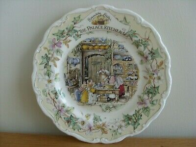 Royal Doulton  Brambly Hedge Plate  The Palace Kitchens  1st Quality   • 35£