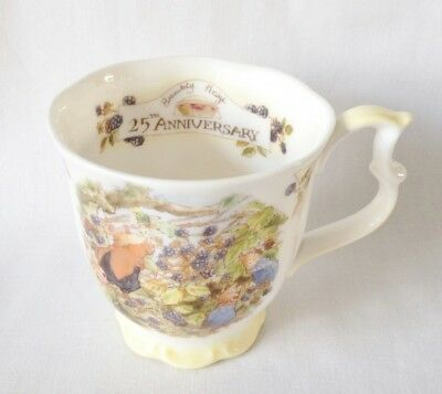 Brambly Hedge 25th Anniversary Lord Woodmouse Beaker - 1st Quality - Boxed • 75£