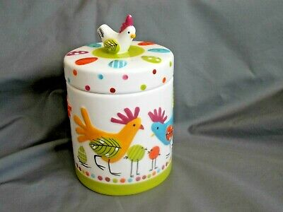 M&s Marks And Spencer Stoneware Chicken Jar Canister • 18£