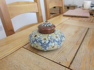 Excellent Condition Doulton Artware Stoneware Inkwell • 9.99£