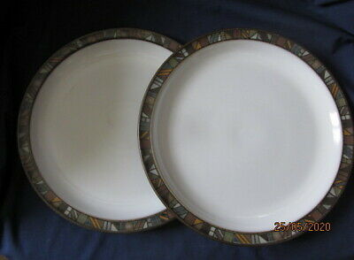 DENBY MARRAKESH DINNER PLATE SECOND QUALITY (NEW) 26CM 2 Available • 12.50£