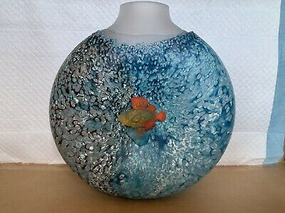 Kosta Boda Fish Out Of Water Vase • 350£