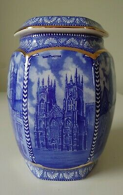 Wade~for Ringtons~millennium~cathedrals~tea Caddy~biscuit Jar~home Decor~gift! • 20£