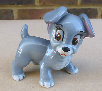 WADE Disney Blow Up Scamp Figurine (Lady And The Tramp) • 32.99£