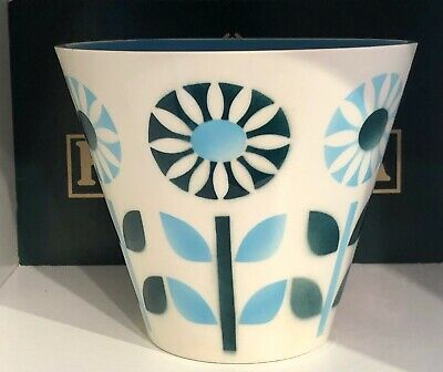 Hornsea Pottery Sunflower Planter.  Mould Number 747.  4 1/2 Inches  Tall.   A/f • 13.50£