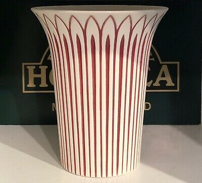 HORNSEA POTTERY LARGE WESTMINISTER VASE BY JOHN CLAPPISON.  MOULD No 236. A/F • 4.99£