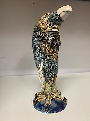 BURSLEM POTTERY STONEWARE GROTESQUE BIRD VINCENT INSPIRED BY MARTIN BROTHERS 1of • 269£