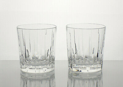 STUART CRYSTAL Hampshire Whisky Tumblers  X 2 • 29£