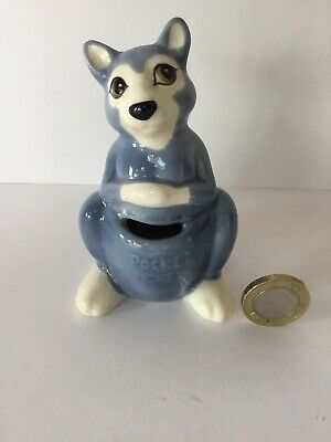 Vintage Szeiler Pottery Pocket Money Kangaroo, Animal Money Box Figurine, VGC • 15£