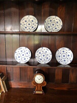 5 X Side Plates Denmark Pattern By Johnson Bros • 3.50£