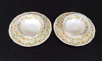 Duchess GREENSLEAVES Dinner Plates, Salad Plates And Bowls • 6.75£