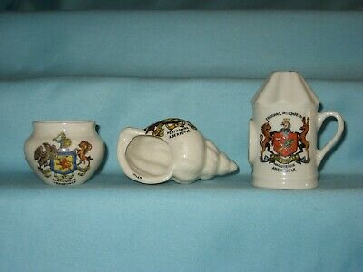 3 Crested Pieces [Inc. Police Lamp] - All With ABERFOYLE Crest • 7.99£