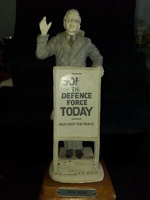 Figure Of A Man Join The Defence Force Today  • 18£
