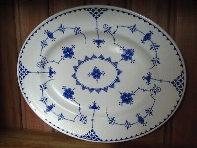 MASONS BLUE DENMARK Large Serving Plate Platter Hardly Used Very Good Condition • 22£