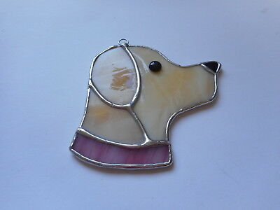 Stained Glass Labrador Dog Suncatcher Or Wall Mount.  • 13.50£