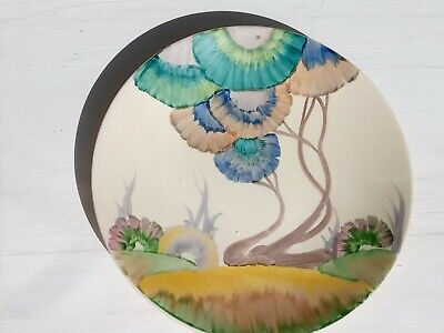 Clarice Cliff Rhodanthe Pattered Plate • 175£