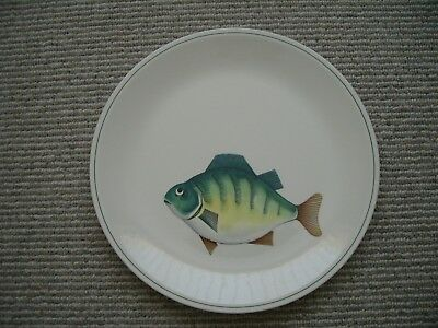 Villeroy & Boch Porcelain ATLANTIC Pattern PERCH Dinner Plate-26 Cm Diameter • 16.99£
