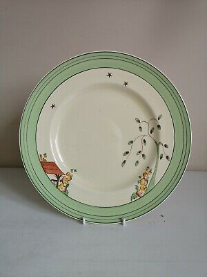 Clarice Cliff  Wishing Well  9  Dinner Plate • 36.99£