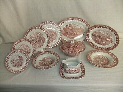 C4 Pottery Myott & Meakin - Country Life - Plates & Serving Dishes 1B4C • 15£