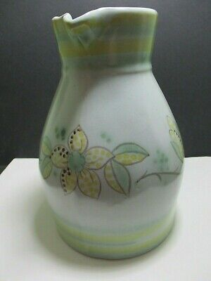 Large Buchan Stoneware Jug With Art Deco Flowers - 186/60 M2/59 • 32.50£