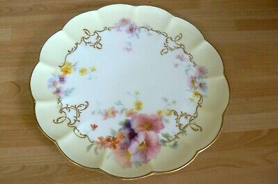 Vintage George Jones & Son Crescent China Scalloped Cake Plate  - Stoke • 4.99£