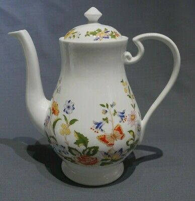 Brand New Aynsley Cottage Garden Coffee Pot And Lid - 2nd Quality • 18£
