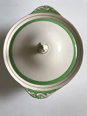 Lovely Solian Ware Soho Pottery Queens Green Tureen • 8.99£