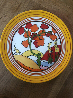 Clarice Cliffe Pottery LtdEd Plate 234B Official Bridgewater Bizzare Col'tion • 5.50£