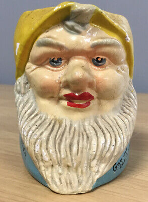 Gno-me The Lucky Gnome Torrington Toby Character Jug • 6.99£
