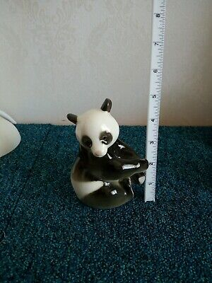 Vintage Black And White Collectable Russian Panda • 7.50£