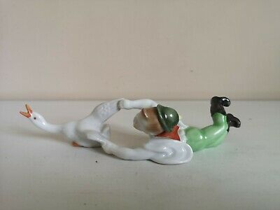 Vintage Herend  Boy Catching Goose  Figure • 24.99£